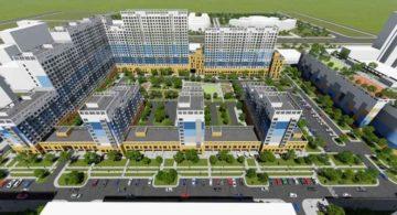 Комплексное проектирование застройки микрорайона в Астане
